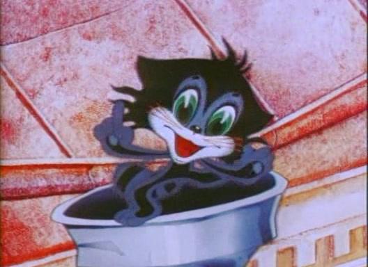 Это мультфильм про котенка который